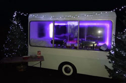 Photo: Red Radish Catering's ice cream van